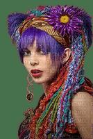 portrait visage femme woman hippie
