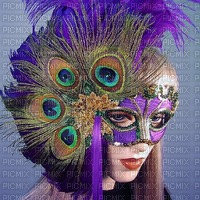 woman with mask bp