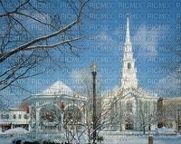 Keene New Hampshire, Winter, Joyful226