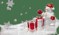 chantalmi déco noël snowman bonhomme de neige cadeau red rouge blanc white