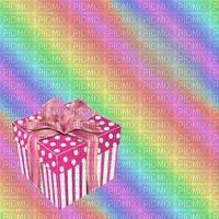 image encre color effet mariage arc en ciel à pois cadeau  edited by me