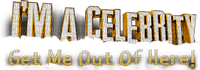 Kaz_Creations Logo Text I'm a Celebrity Get Me Out Of Here