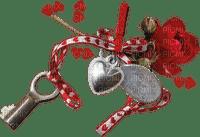 Key.Love.Clé.Red rose.Victoriabea