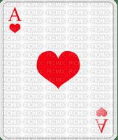 heart ace card carte d'as de coeur