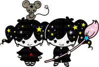 Magical twin comets
