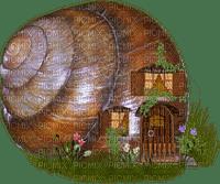 Fantasy Fairy Snail House