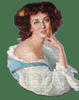 woman femme vintage