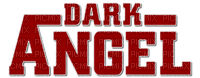 dark angel text red