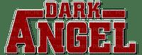 dark angel text red