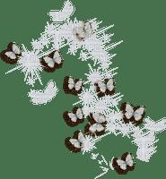 butterfly papillon sparkles stars sterne etoiles deco  overlay effect  tube white blanc blue