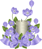 Kaz_Creations Flowers Flower Deco Ribbons Bows Purple Candle Colours Candles