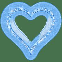 blue heart coeur bleu