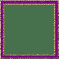 rfa créations - cadre violet et doré