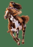 woman and horse---kvinna-häst-minou52