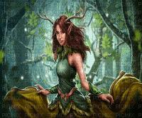 forest elf foret elfe