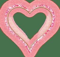 HEART FRAME PINK cadre Coeur rose