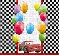 image encre bon anniversaire Disney color effet ballons  edited by me