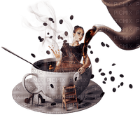 woman femme frau beauty tube human person people coffee cafe kaffee cup tasse can pot