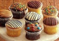 cupcakes trempés au chocolat