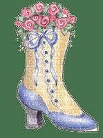 vintage deco shoe