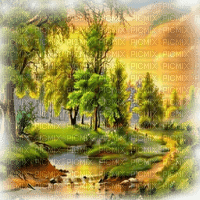 summer landscape paysage êtê