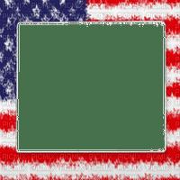 america flag frame