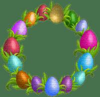 Kaz_Creations Deco Easter Circle Frames Frame