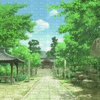 anime bg fond
