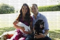 Kate Wiliam leur bébé et leur chien