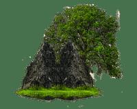 stone stein deco  tree baum