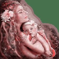 dolceluna mother child baby pink fantasy