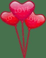 balloon valentine valentin heart coeur deco