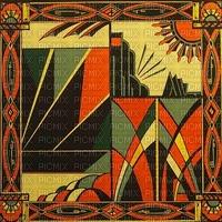 Art Deco background bp