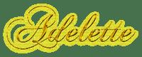 Adelette-Signature