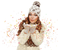 woman winter femme hiver