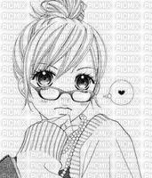 Fille manga trop belle