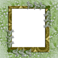 muguet  cadre lily of the valley frame