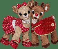Christmas decorations toys reindeer_Noël décorations jouets renne_tube