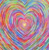 multicolore image encre effet ink ivk rose vert coeur deco edited by me