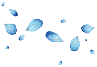 blue flower petals  bleu fleurs deco