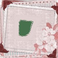 dolceluna pink vintage frame flowers