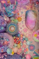multicolore art image rose bleu violet multicolored color kaléidoscope kaleidoscope effet encre edited by me