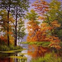 automne  paysage autumn bg forest