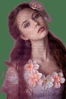 charmille _ femme en rose