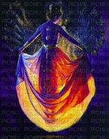 image encre couleur femme effet edited by me