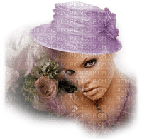 femme woman frau beauty tube human person people spring printemps frühling primavera весна wiosna hat hut cap fashion vintage flower fleur