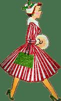 woman vintage noel laurachan