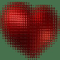 coe coeur love rouge glitter gif deco animé