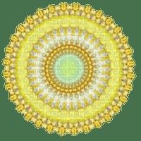 Yellow Mandala