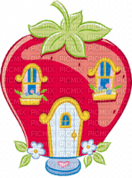 strawberry house  maison fraise